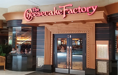 The Cheesecake Factory: 390 Hackensack Ave, Hackensack, NJ 07601