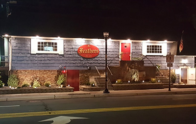 Club Feathers:  77 Kinderkamack Rd, River Edge, NJ 07661